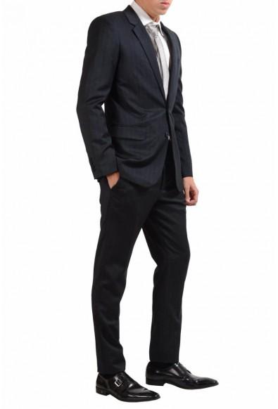 Saint Laurent Men's Charcoal Wool Silk Two Button Suit: Picture 2